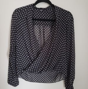 3/$30 Cross over blouse